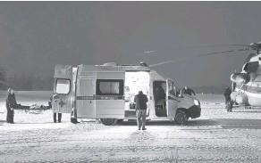 ?? Фото: правительство РК ?? В спасении подростка были задействованы МЧС и медицина катастроф.