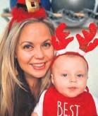 ??  ?? Megan Elliot and her little cherub, Harvey.