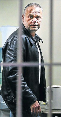 ?? Picture: ALON SKUY ?? CZECH: Radovan Krejcir, a fugitive from justice, was this week convicted by an SA court of kidnapping and attempted murder