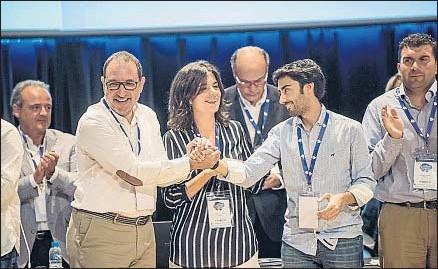 ?? GEMMA MIRALDA ?? El secretario general del comité de gobierno de Unió, Ramon Espadaler, ayer en Barcelona