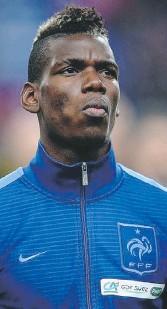 ??  ?? Paul Pogba (23 anni) centrocampista francese