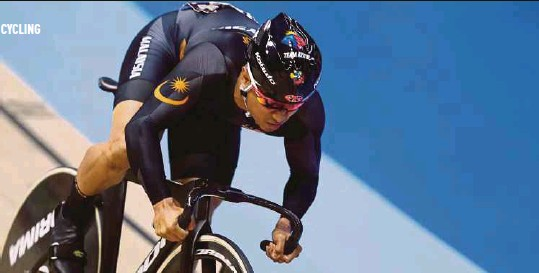 ??  ?? Azizulhasni Awang failed to make an impact at the World Track Championships in the Netherlands after contracting a viral infection.
