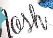 ??  ?? Use a wet cotton swab to clean up any smudged areas on the transferred graphic before it dries.