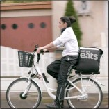 ??  ?? Shannon Walsh's The Gig Is Up brings forth voices of workers for food-delivery services.