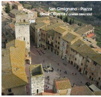 ??  ?? San Gimignano - Piazza della Cisterna / GEMMA GRAU SOLÉ