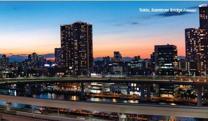 ??  ?? Tokio, Raimbow Bridge / PIXABAY