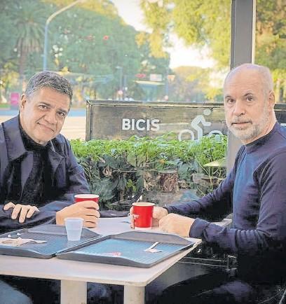 ?? Archivo ?? Jorge Macri y rodríguez larreta; una negociación cargada de tensiones