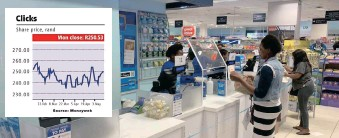 ??  ?? THE PROPOSED acquisition of Pick n Pay pharmacies comes after Clicks added 16 new pharmacies in the six months to end February despite the continued disruptions caused by the Covid-19 outbreak.   Supplied