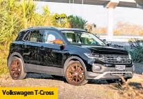 ??  ?? Volkswagen T- Cross
