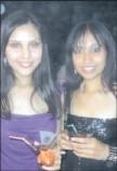 ??  ?? Tasmeena Maharaj and Karen Naidoo spotted at the 5FM/Ftv event at Suncoast.