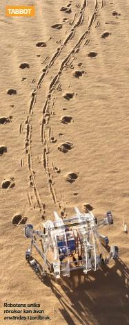 ??  ?? Robotens unika rörelser kan även användas i jordbruk.