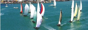 ??  ?? Auckland's superyacht regatta may have a smaller turnout