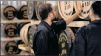 ?? PHOTO: REUTERS ?? Workers of the Milk & Honey distillery where they produce what they call the first Israeli-made single malt whiskey and a kosher one at that, in Tel Aviv, Israel.