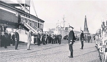 ??  ?? Prince Philip in Dundee in 1968. Read more about the occasion in the column above.
