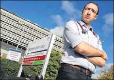 ??  ?? WARNING: Dr David Reid, chair of the BMA's Scottish Junior Doctors Committee.
