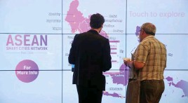 """?? Photo: TODAY ?? Asean has the opportunity to be a """"frontier society"""" and pioneer new digital services serving the needs of its people, said Singapore's Foreign Minister Vivian Balakrishnan at the inaugural Asean Smart Cities Network meeting."""