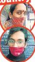 ??  ?? (From top) Kiran Sakhi and Naira Tanwar