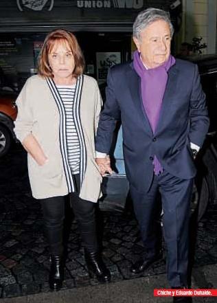 ??  ?? Chiche y Eduardo Duhalde.