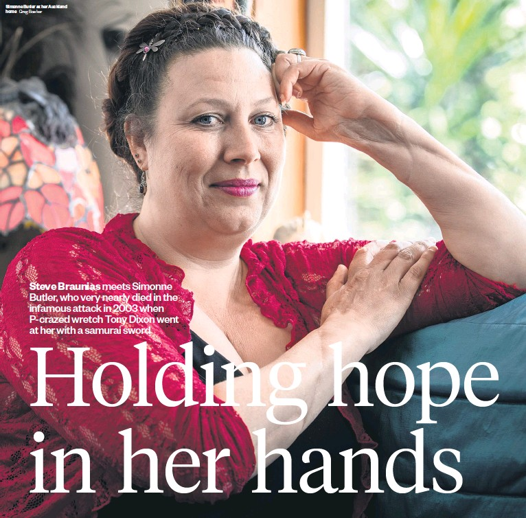 Pressreader Weekend Herald 2016 11 19 Hope In Her Hands