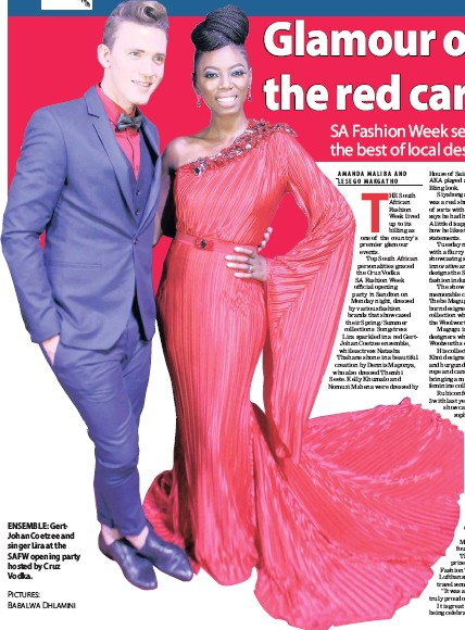 0efc3384de1 PressReader - The Sunday Independent  2017-04-02 - Glamour on the ...