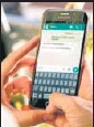 ?? STOCK PHOTO ?? Whatsapp said it will continue to send reminders about the update.