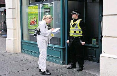 Inverness betting shop robbery binary options pro signals performance parts