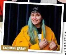 ??  ?? CAOIMHE BARRY