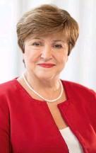 ??  ?? Looking to the future of the world economy: Kristalina Georgieva