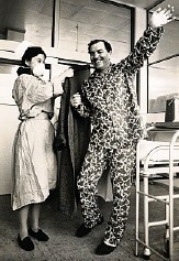??  ?? Frederick West becomes Britain's first heart transplant patient, though he passed away 45 days later