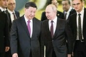 ?? ALEXANDER ZEMLIANICHENKO AP file, 2019 ?? Russian President Vladimir Putin and Chinese President Xi Jinping have developed strong personal ties that help bolster a strategic partnership between the two former Communist rivals.