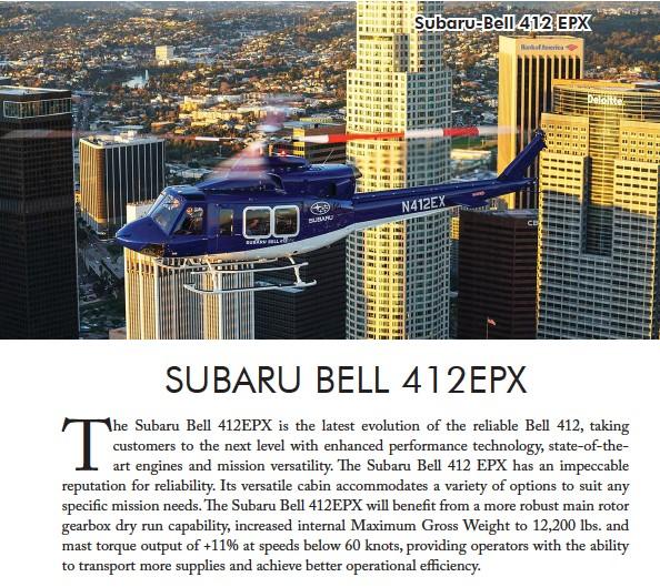 ??  ?? Subaru-Bell 412 EPX