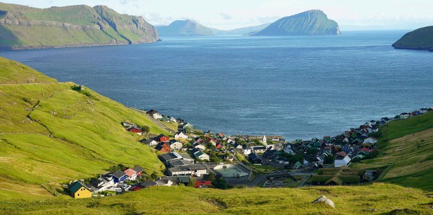 ??  ?? Secluded Nordic villages are nestled in the Faroe Islands' exposed landscape