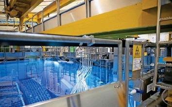 ?? BKW ?? Beim Atomkraftwerk Mühleberg hat der Rückbau schon begonnen.