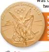 ??  ?? Nike, die Griekse godin van oorwinning, word op die medaljes van die moderne Olimpiese Spele uitgebeeld.