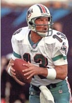 ?? AP ?? Dan Marino was the 27th overall pick of the Miami Dolphins in the 1983 NFL draft. GM Ron Wolf, who held the No. 27 pick for the Packers in 1996, made reference to Marino as one of the few good picks at that spot.