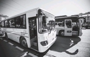 ??  ?? Новый полукольцевой автобусный маршрут №250 начал работать в областном центре с 13 сентября.
