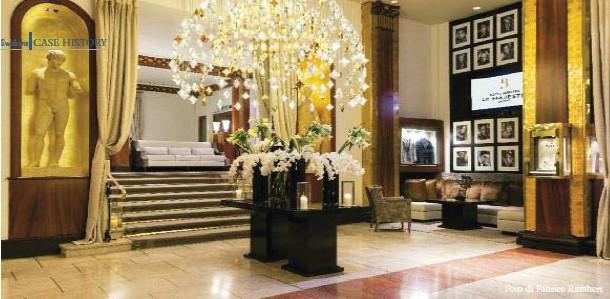 ??  ?? L'albergo è parte di The Leading Hotels of the WorldThe hotel is part of The Leading Hotels of the World Foto di Fabrice Rambert