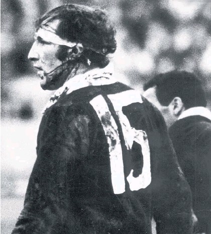 ?? Picture / Photosport ?? Fearless Fergie McCormick will always be barking orders at the back.