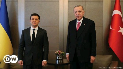 ??  ?? Zelenskyy and Erdogan discussed bilateral relations at their meeting