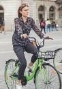 ??  ?? I due modelli di bici a noleggio a Firenze