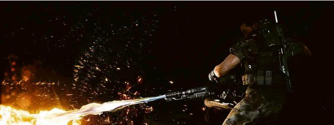 ?? Divulgação ?? Cena do jogo 'Aliens: Fireteam Elite', lançado no mês passado