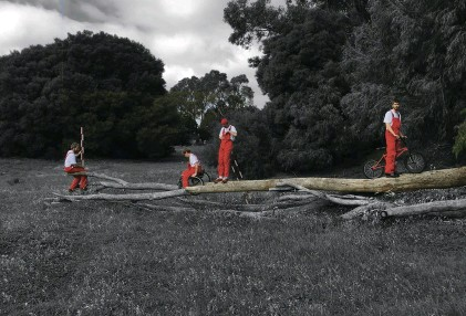 ??  ?? Bennett Miller, Behavioural Ecology (Red) Courtesy the artist and Fremantle Biennale, Western Australia
