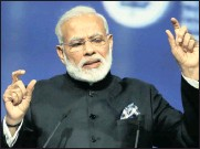 ?? PHOTO: AP ?? Indian Prime Minister Narendra Modi is implementing tax reforms and the rollout of a goods and services tax.