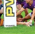 ??  ?? Helping hand Conor Bickerstaff scores