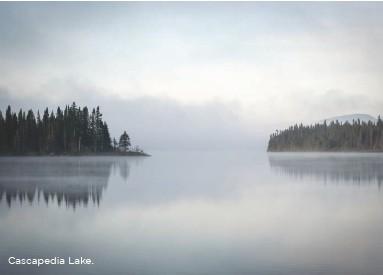 ??  ?? Cascapedia Lake.