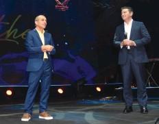 ?? (Avi Rocach) ?? PROF. RONNI Gamzu and Yossi Cohen.