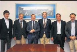 ??  ?? Imagen de archivo del Consejo de Administración del Real Zaragoza.