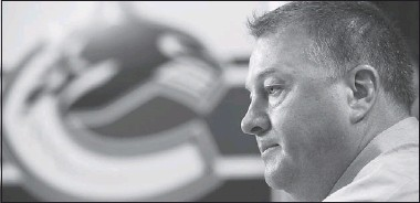 ?? JASON PAYNE— PNG FILES ?? Vancouver Canucks general manager Mike Gillis took a lot of heat in the media for trading Cody Hodgson, and for his recent explanation for why he did so.