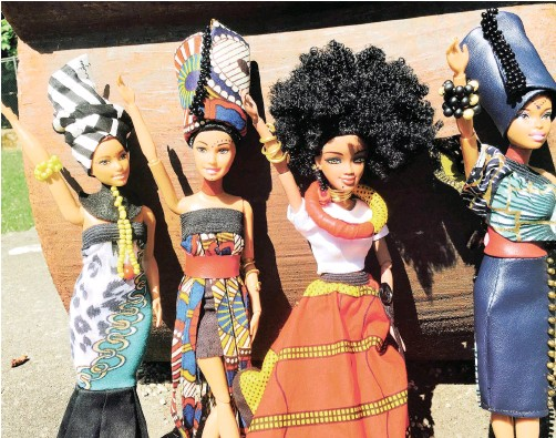 ??  ?? LU­VUTHANDO Dolls by Yolanda Y'awa were cre­ated to give chil­dren the space to be 'per­fectly im­per­fect'.