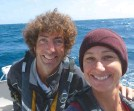 ??  ?? Martin Booth and Helen Doody sailed the world as a couple on five yachts